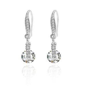 Pierced Diamond Earrings
